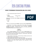Surat Perjanjian Pengikatan Jual Beli Ruko