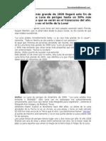 30-La Luna Llena Más Grande de 2009 Llegará Este Fin de Semana