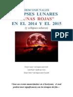 Eclipces Lunas Rojas