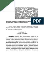Ejecutoria Cont. Tesis Termino Exhibicion CERT. MED. CONF Y TEST.