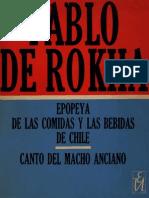 Pablo de Rokha - Epopeyas de Las Comidas y Las Bebidas de Chile
