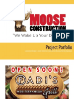 Moose Construction Recent Projects