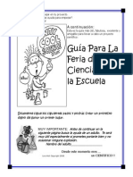 science fair booklet spanish