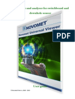 NovometUV User Guide in English