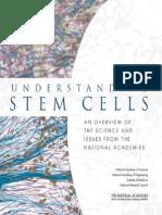 understanding stem cells