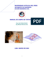 Manual de Campo Topografía