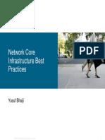 Network Core Infrastructure Best Practices