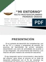 Proyecto Mi Entorno 2014