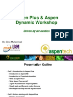 Aspen Plus & Dynamic Workshop (Step by Step)