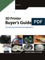 2014 3D Printer Buyers Guide