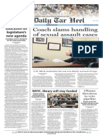 The Daily Tar Heel for Jan. 14, 2015