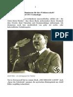 Hitler Ein Test Der Illuminaten Für Ihre Weltherrschaft