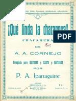 Cornejo-Iparraguirre Que Linda La Chacarera