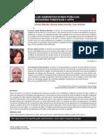 Open Data en Las Administraciones Públicas Españolas Ategorías Temáticas y Apps.