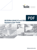 Telit GE-GC864-QUAD V2 and GE864-GPS Hardware User Guide r12