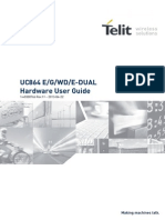 Telit UC864-E G WD E-DUAL Hardware User Guide r11