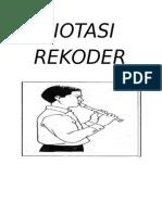 Cover Notasi Rekoder