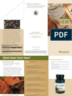 Reishi Max Trifold Brochure