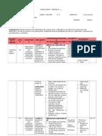 Planificador Final - Rutas de aprendizaje - Primer grado primaria - Matemática