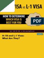 H1B vs L1