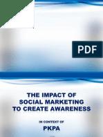 Social Marketing Project pkpa