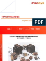 Calculo de Transformadores