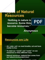 Types of Natural Resources[1]