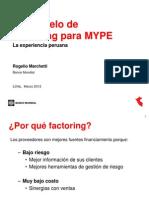 Factoring MYPE