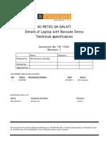 Laptop details (ts+11001-1)