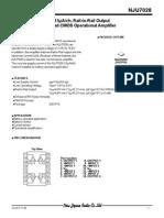 NJU7028V datasheet