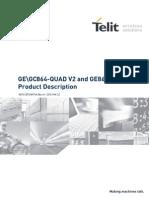 Telit GE-GC864-QUAD V2 and GE864-GPS Product Description r6