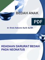 Kuliah Bedah Anak Dr.sindu Sp.ba