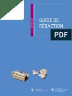 Guide de Redaction