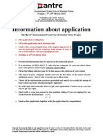 Information About Application for the 21st International Trade Fair of Students Firms Prague