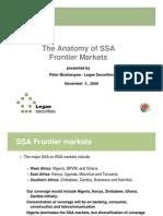 SSA Frontier Markets_Nov 5 2009]