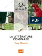 La Litterature Comparee - Chevrel Yves