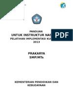 #Panduan Instruktur Nasional 52 Jp Prakarya Smp