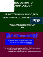 """Introduction to Pharmacology"""
