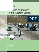 Drawing Boundaries in the Western Balkans