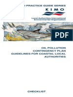 Oil Pollution Contingency Plan