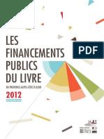 Financements publics du Livre en Paca (2012, restitution 2014)