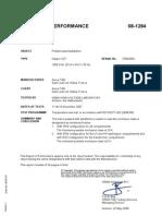 Temperature-rise Test Report Clipper INT 12260W KEMA