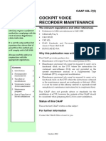 42L_7 CVR Maintenance
