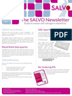 SALVO Newsletter Jan 15