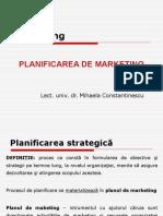 FABBV - Curs 11 (Planificarea de Marketing)