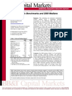 CCRC Benchmarks and 2009 Medians-BB&T-Jan 2010