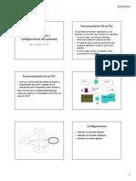 3.1 Funcionamiento y Configuraciones Del Autómata