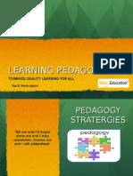 Learning Pedagogy