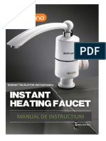 Instant Water Heating Faucet