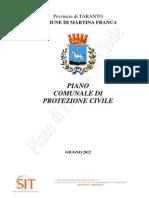 Piano Comunale Protezione Civile MARTINA 21.06.2012